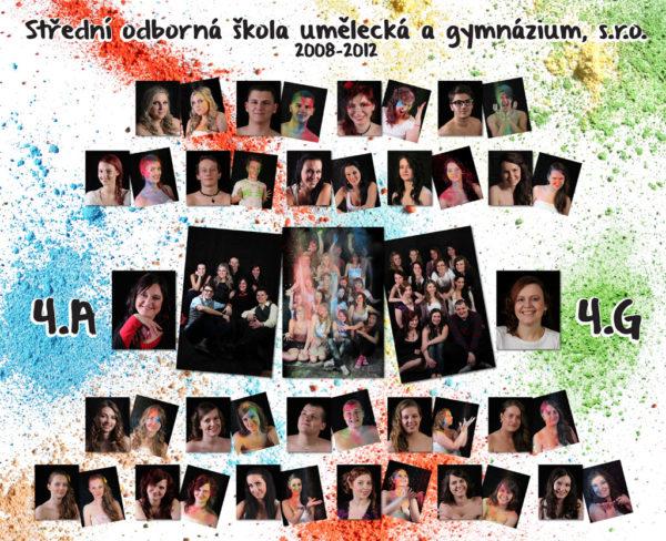 Tablo ročníku 2008-2012 umelecka.cz