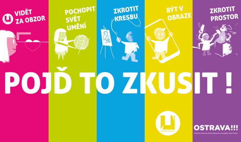 Pojď to zkusit workshop umelecka.cz 2017