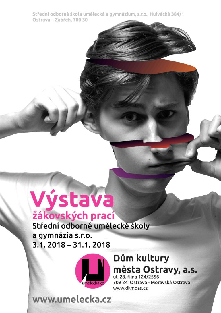 Výstava žáku umelecka.cz 2018 pozvánka